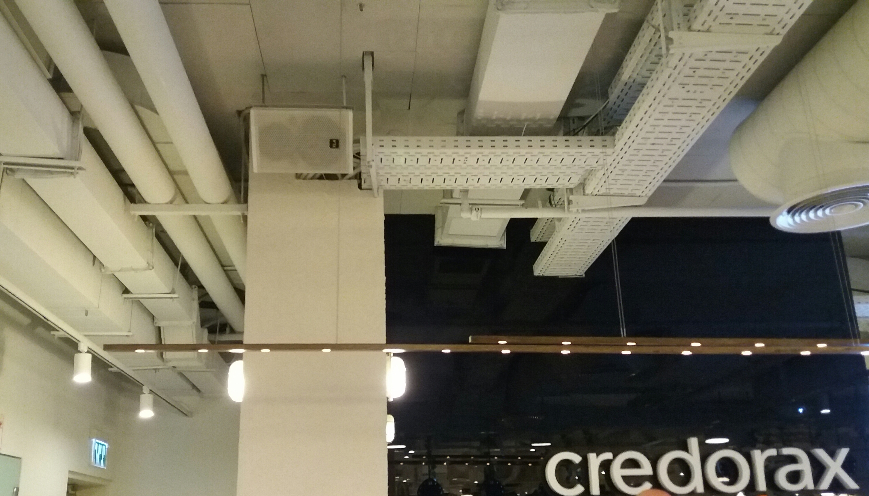 מערכת שמע לחנויות