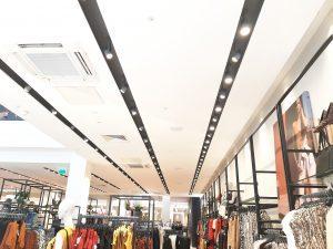 מערכת הגברה לחנות