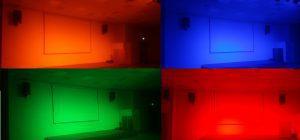 התקנת תאורה לאולם