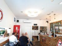התקנת מערכת שמע למסעדה כולל רמקולים חיצוניים