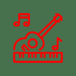 אייקון מוזיקה לאולם