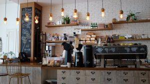 בית קפה ציוד הגברה לעסקים